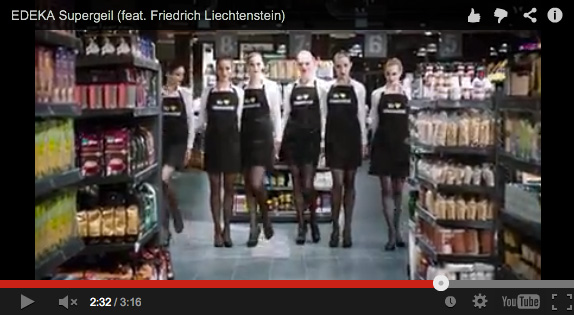 Edeka supergeil musikvideo