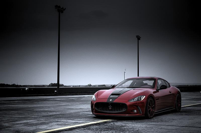 Maserati im Carbon Shop