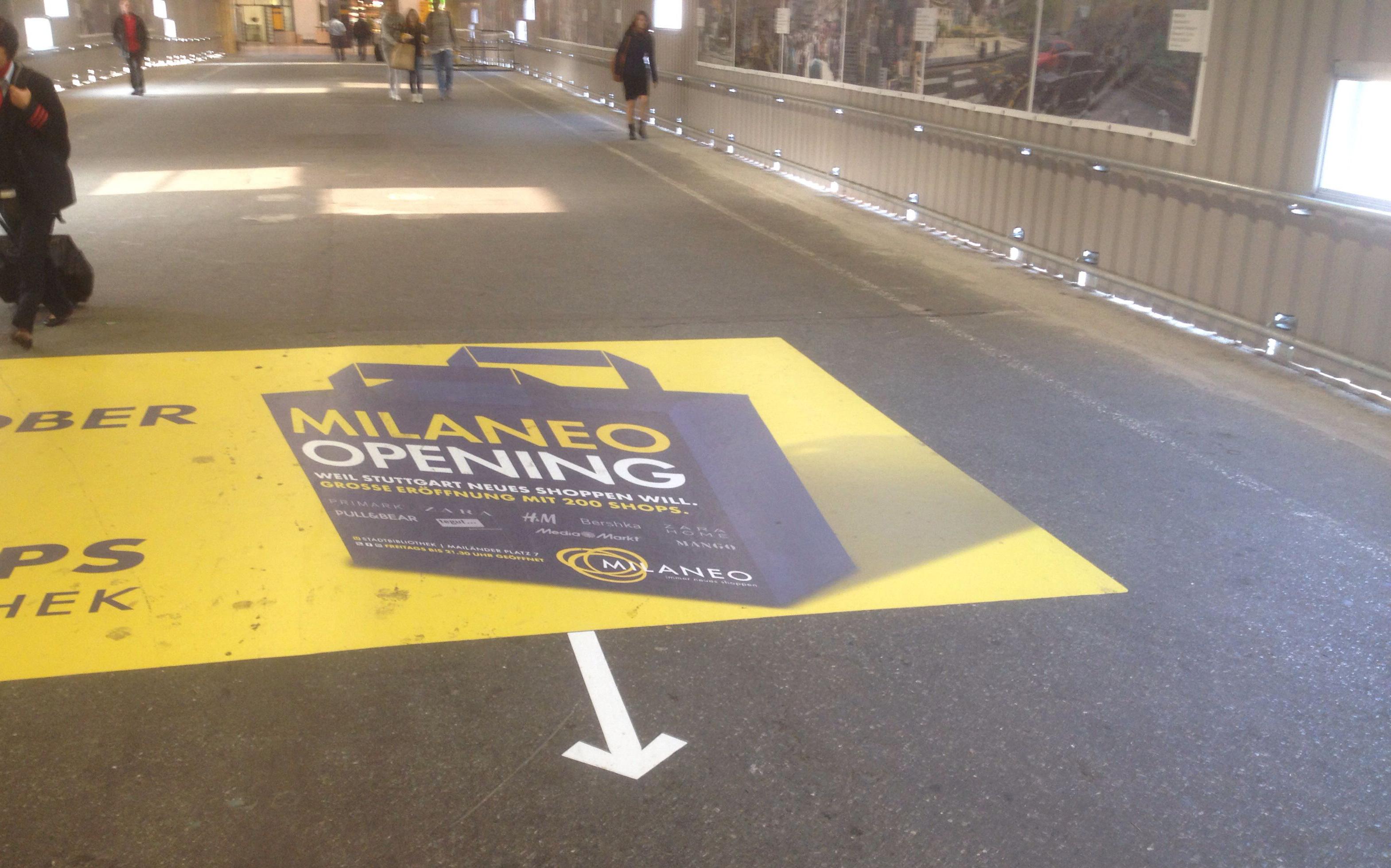 Milaneo Werbung